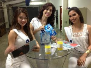 Karla, Ana Yanzy y Cristina candidatas a Miss Nicaragua 2013. LA PRENSA