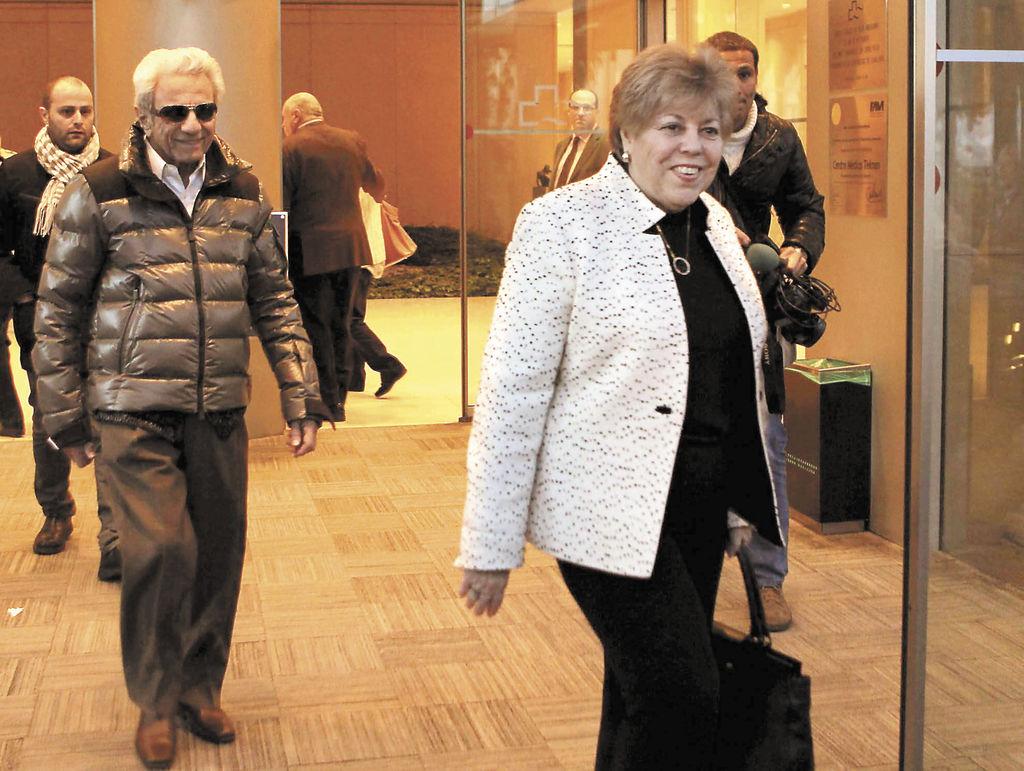 Los padres de la cantante colombiana Shakira,  William Mebarak Chadid, y su madre, Nidia Ripoll Torrado.   LA RPENSA/EFE/ALBERT OLIVÉ