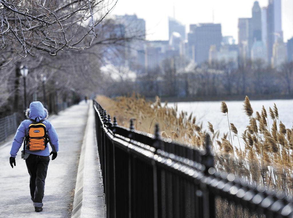 Ola de frío en EE. UU., y Canadá