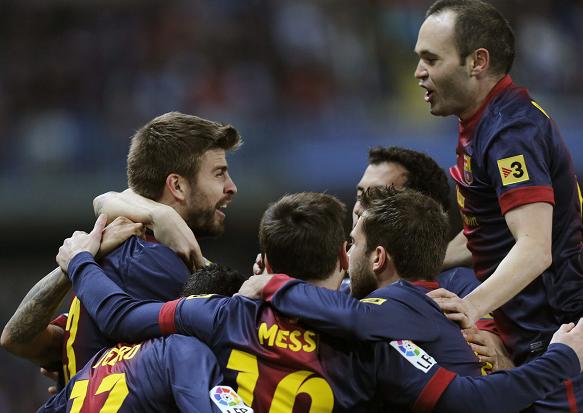 Barcelona y Atlético de Madrid, clasificados