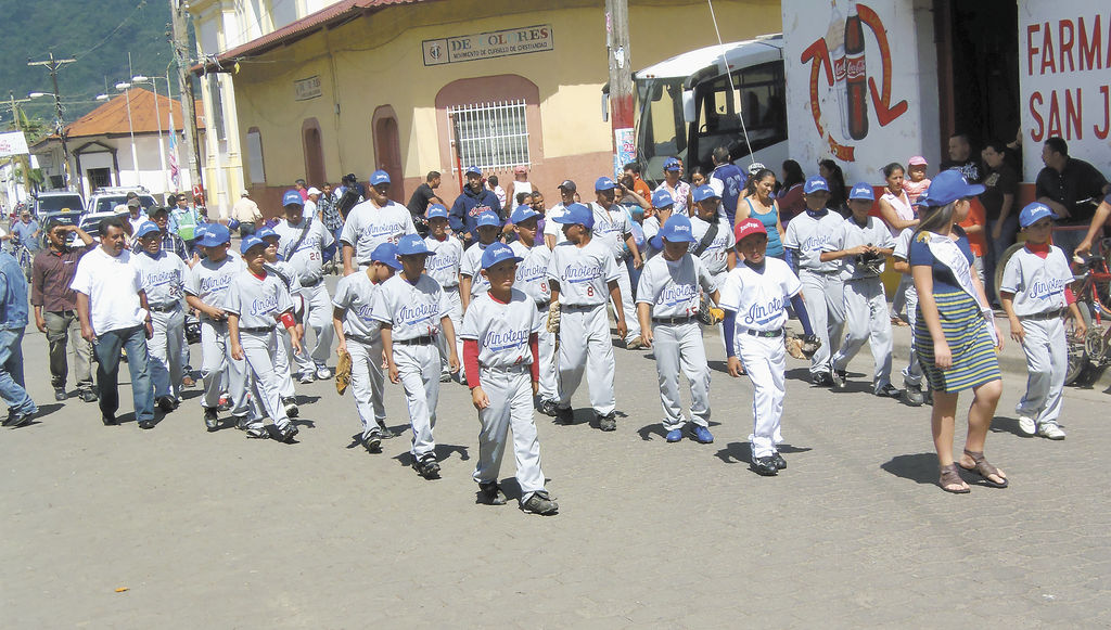 De Jinotega se espera que haga un buen papel  en el Nacional Infantil inaugurado ayer en la ciudad de las Brumas.  LA PRENSA/F. RIVERA.