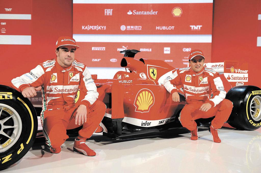 Ferrari con nuevo bólido