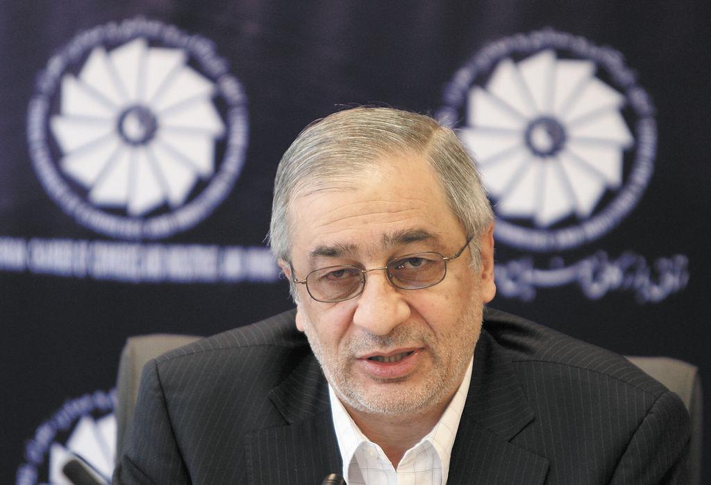 Tahmasb Mazaheri,  ex presidente del Banco Central de Irán. LA PRENSA/AFP/ATTA KENARE