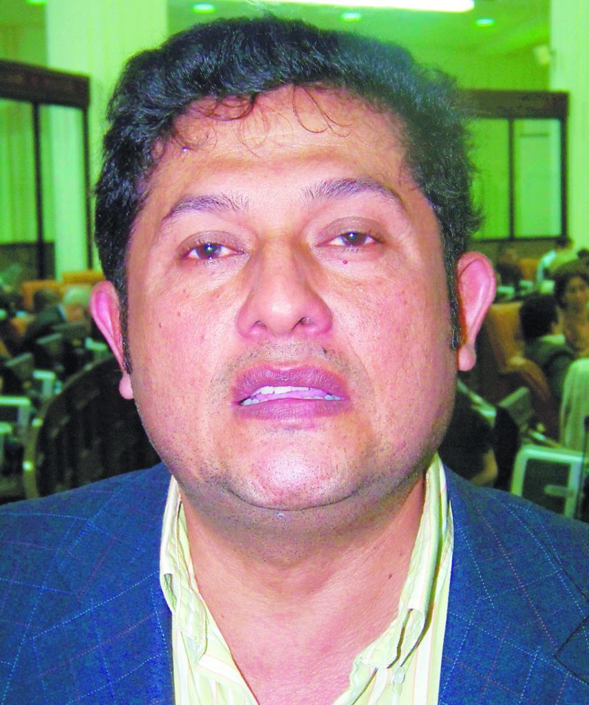 Diputado Elman Urbina.  LA PRENSA/G.MIRANDA