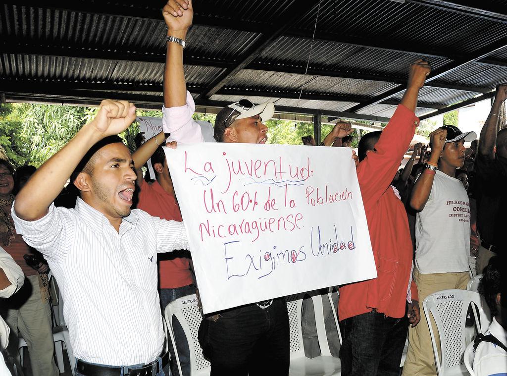 Recientemente se conformó en Ciudad Darío,  un movimiento que busca una unidad para hacer una verdadera oposición.  LA PRENSA/J.TORRES