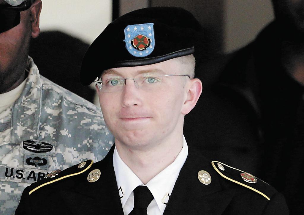 Bradley Manning, de 25 años.  LA PRENSA/ARCHIVO AP