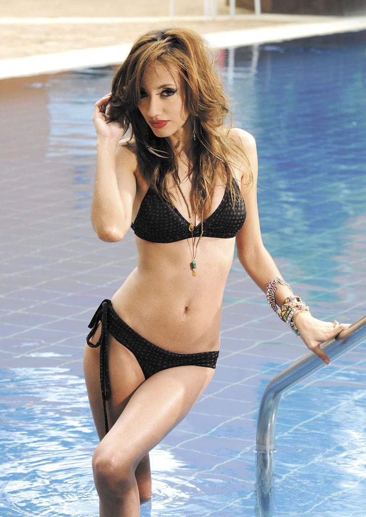 Modelo: Zindzi Waleska Sobalvarro Aráuz.Producción realizada en el Hotel Holiday Inn.LA PRENSA/ URIEL MOLINA.