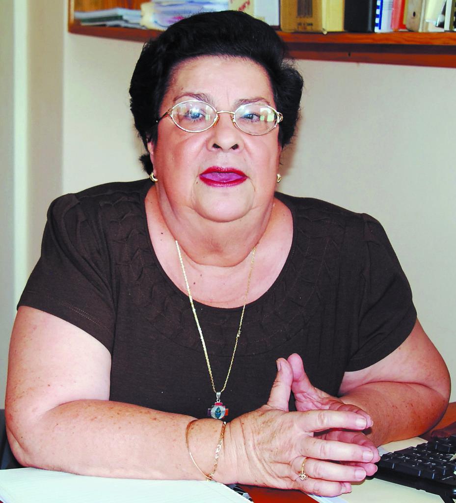 Presidenta del Cenidh,  Vilma Núñez, viajará para denunciar reducción de pena al abusador. LA PRENSA/ARCHIVO