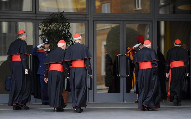 Cardenales enviarán telegrama a Benedicto XVI