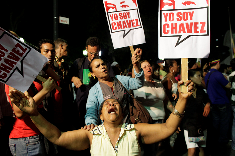 Conmoción entre chavistas