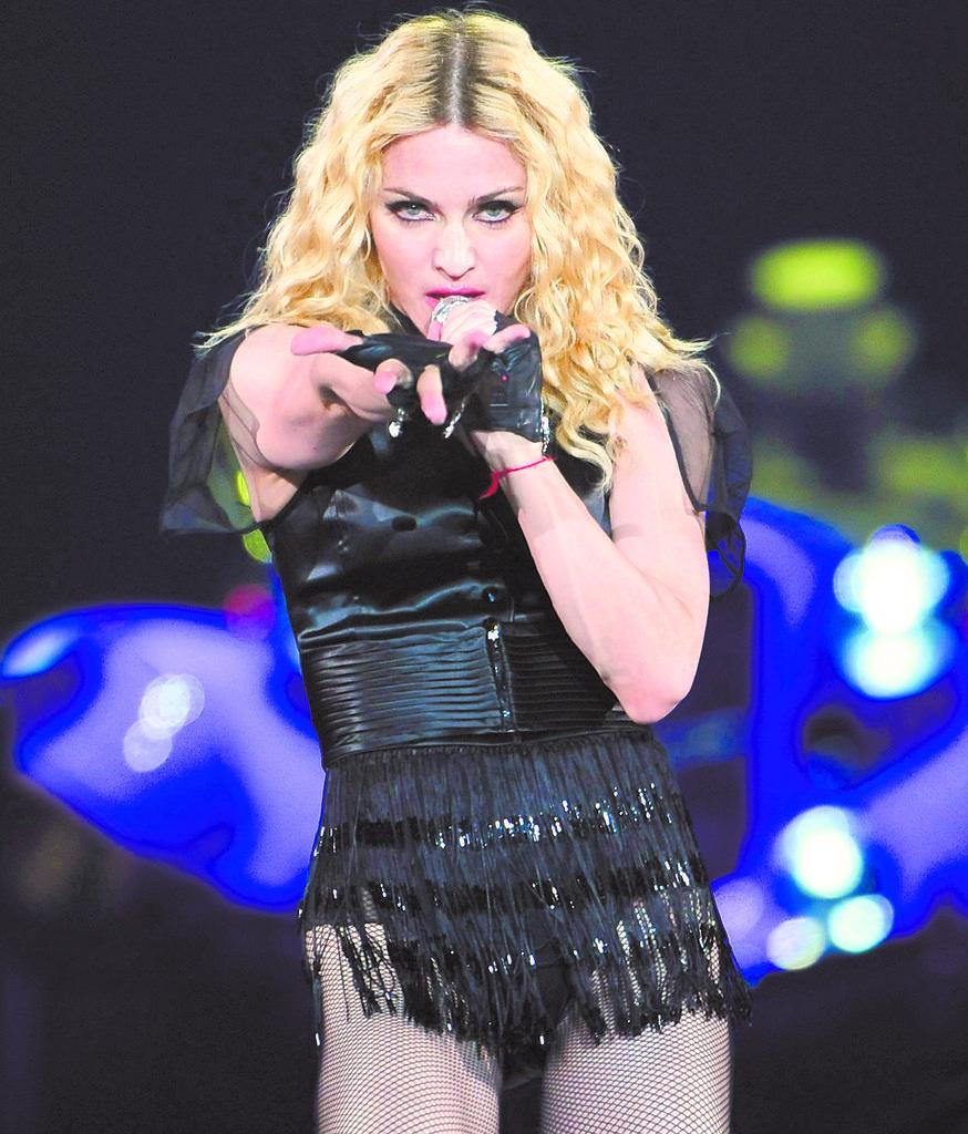 Madonna en polémica por bandera de Taiwán