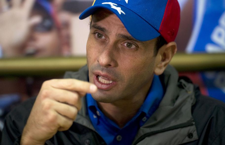"Henrique Capriles: Venezuela vive un ""carnaval atípico producto de la crisis"""