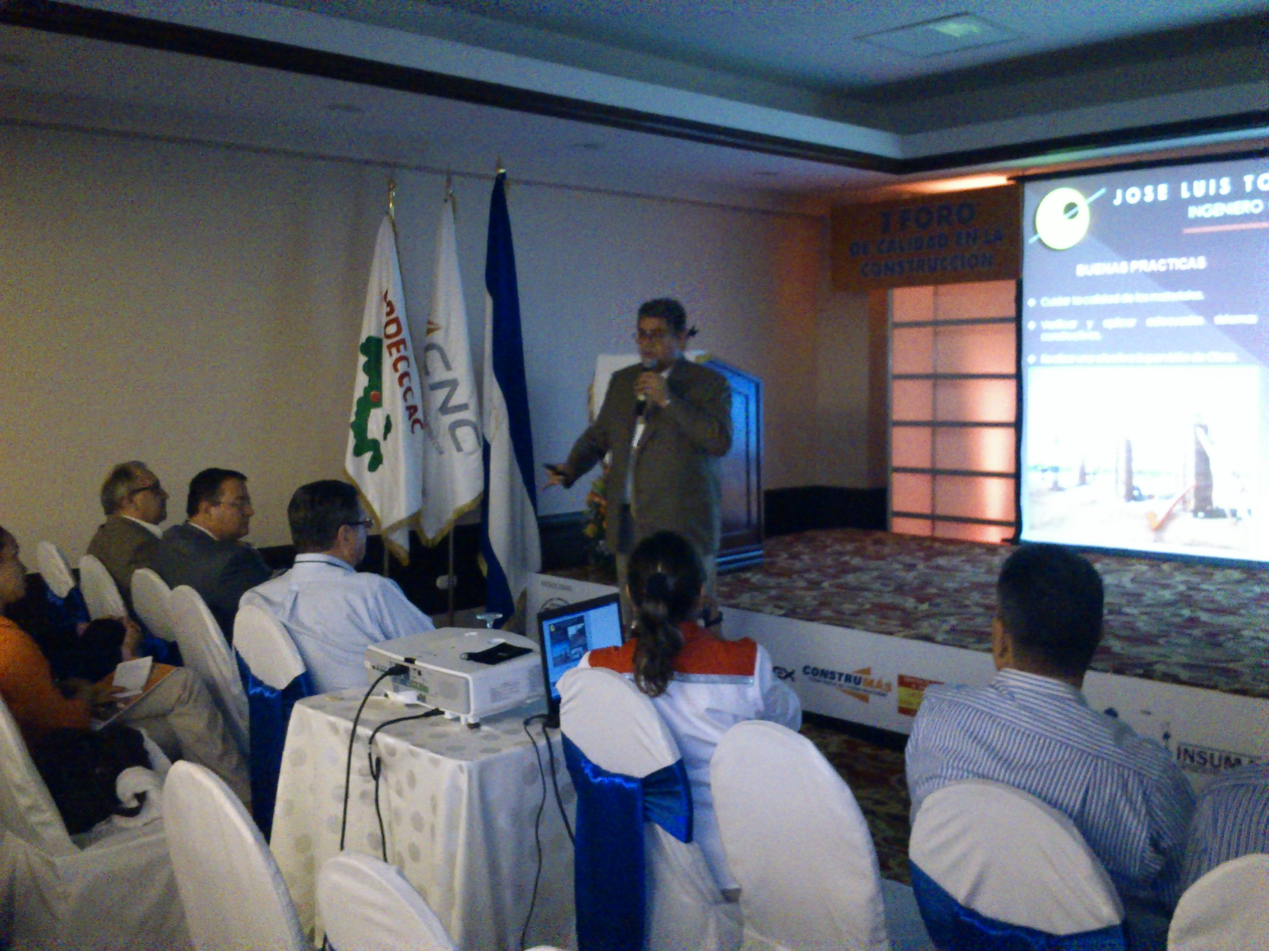 Realizan foro sobre calidad de materiales de construcción en Managua