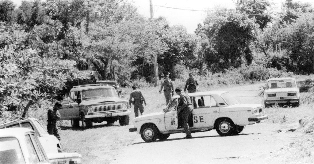 Los miembros de la Seguridad del Estado sandinista, entrenados por agentes cubanos y alemanes especialmente, estaban encargados de detectar a todas las personas que realizaran actividades en contra de la revolución sandinista de los años ochenta. LA PRENSA/ ARCHIVO