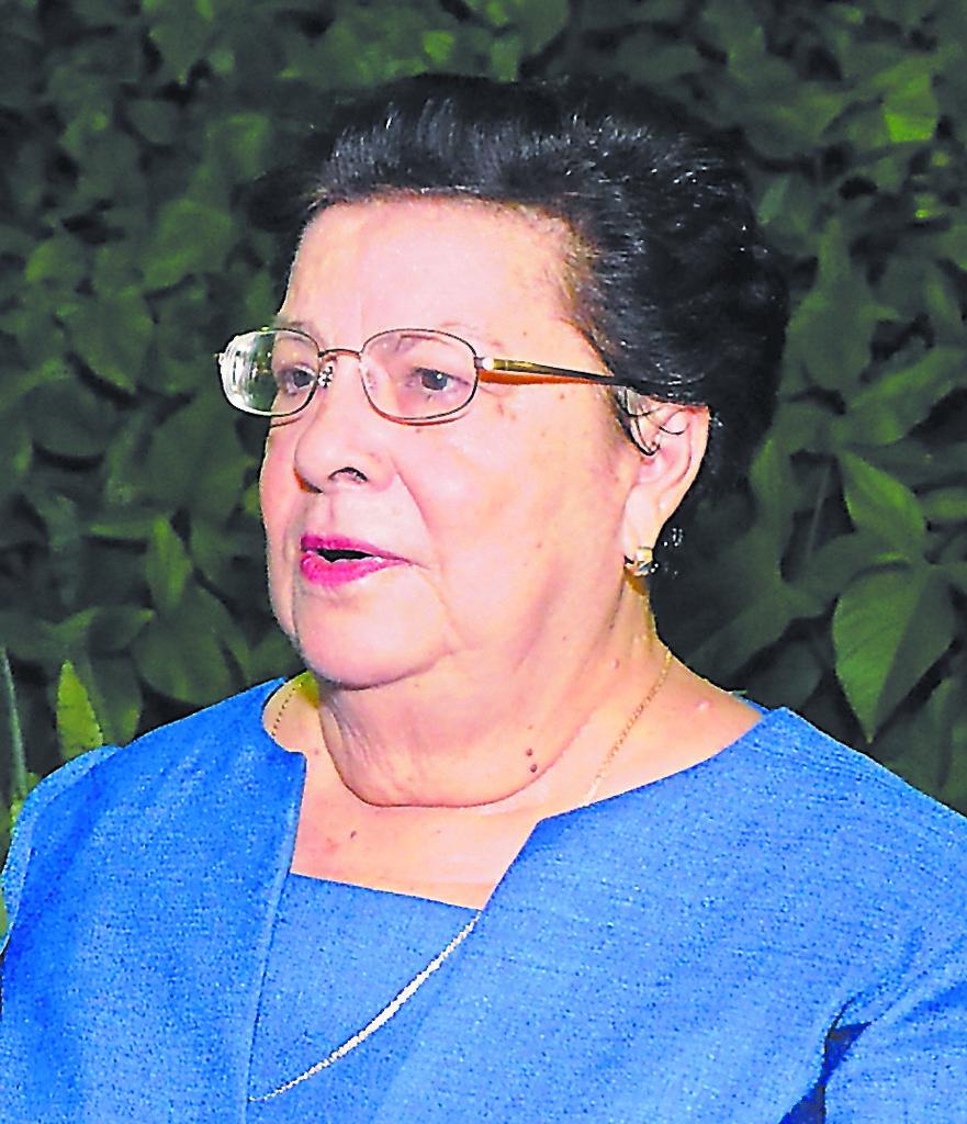 Vilma Núñez de Escorcia. LA PRENSA/ ARCHIVO