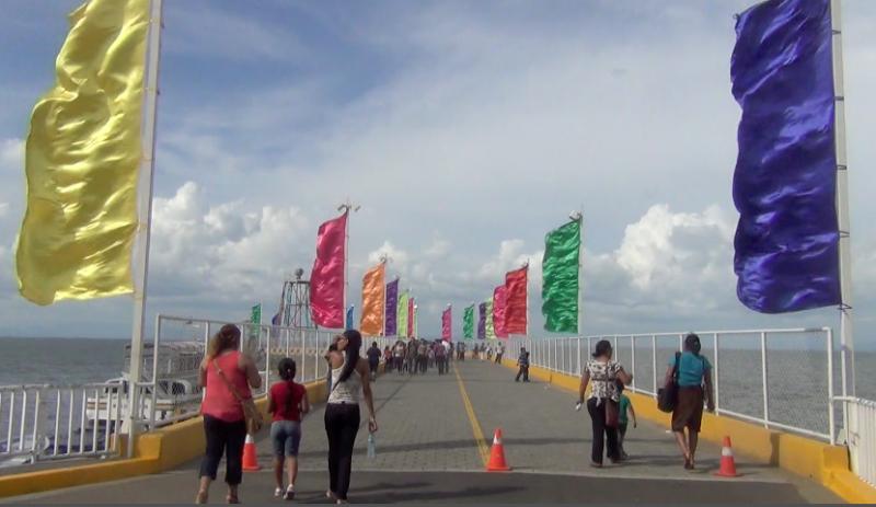 Vistas del puerto Salvador Allende