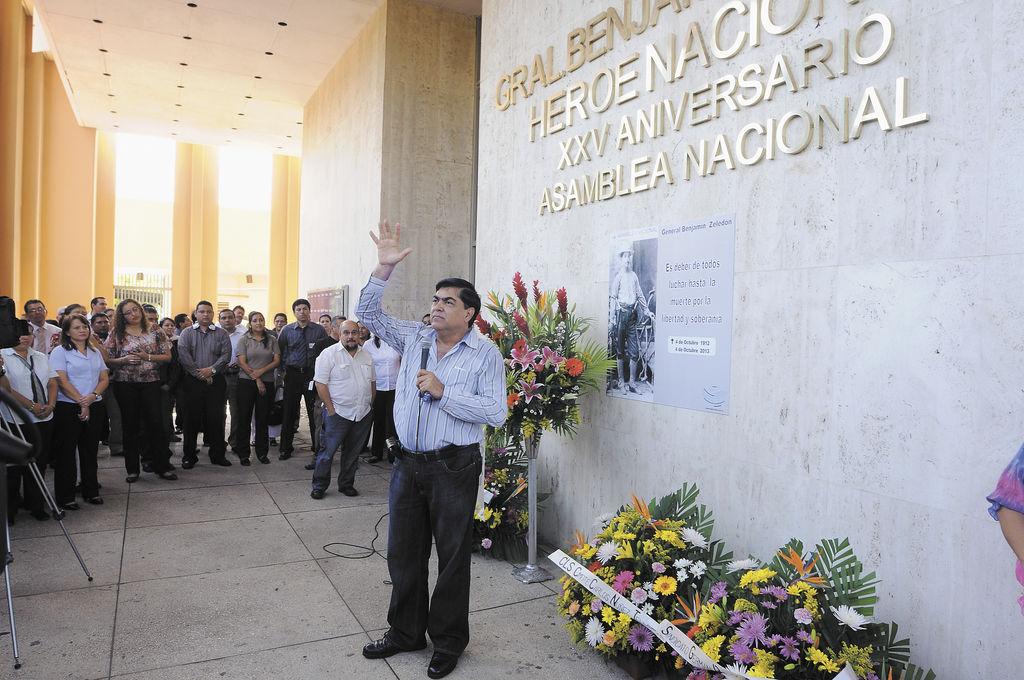 Conmemoran a Benjamín Zeledón