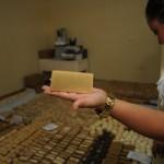 Hace año y medio empezaron a fabricar jabones naturales para la  familia y hoy ya están en el mercado.