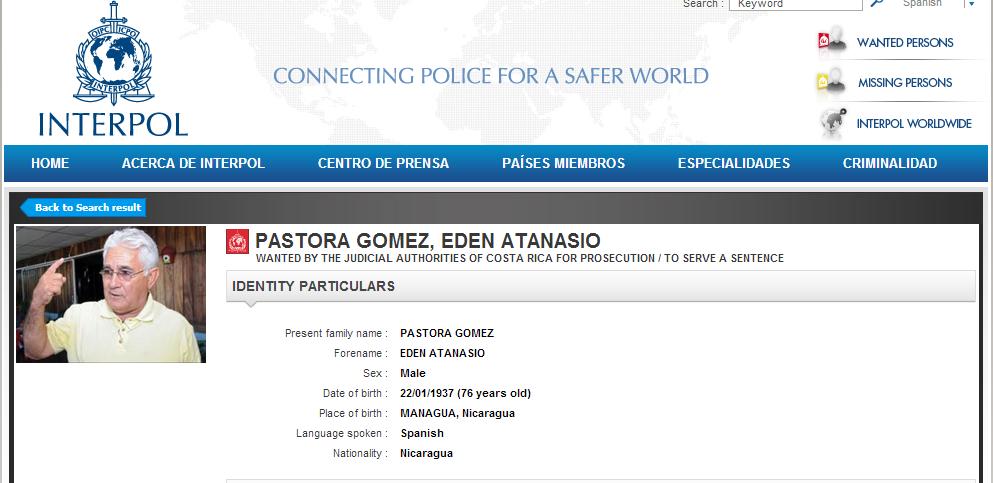 Imagen tomada de www.interpol.int