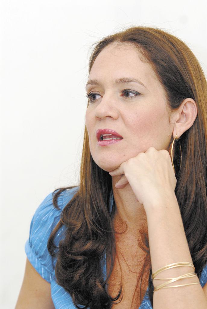 Karen Celebertti,  directora de la organización Miss Nicaragua.  LA PRENSA/ARCHIVO