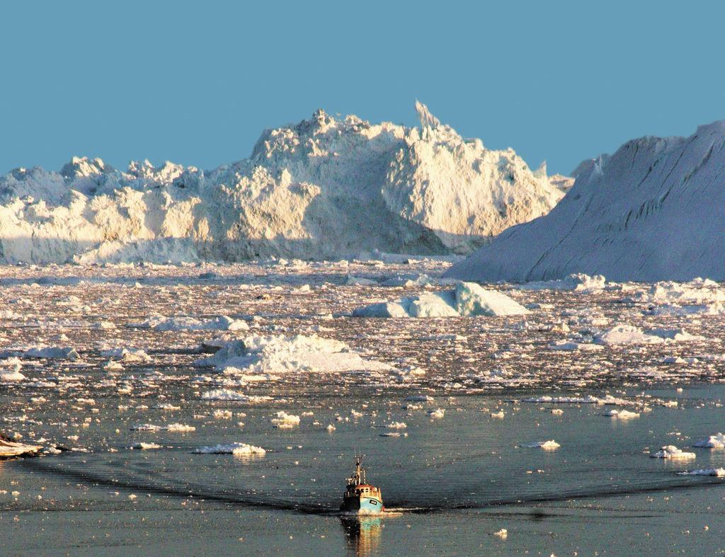 Ártico se oscurece