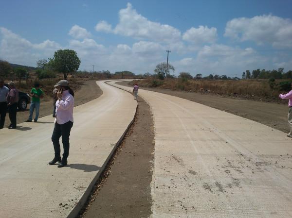 Alcaldía capitalina informó que la vía alterna Club de Golf Nejapa-Sabana Grande lleva un avance de 80%. LAPRENSA/R.MONCADA