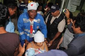El sismo de 6.2 activó la alerta amarilla para León y Matagalpa. LA PRENSA/ E. LÓPEZ.