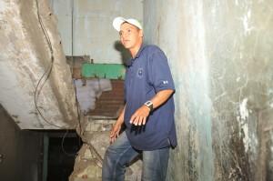 Pobladores que habitan en los escombros de la vieja Managua fueron evacuadas por las autoridades. LA PRENSA/ M. ESQUIVEL.