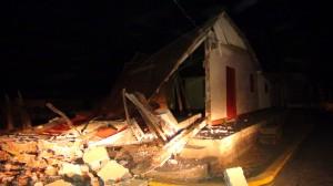 En el municipio de Nagarote 566 viviendas resultaron afectadas luego de los sismos producidos en el pacífico de Nicaragua. LA PRENSA/E.LÓPEZ
