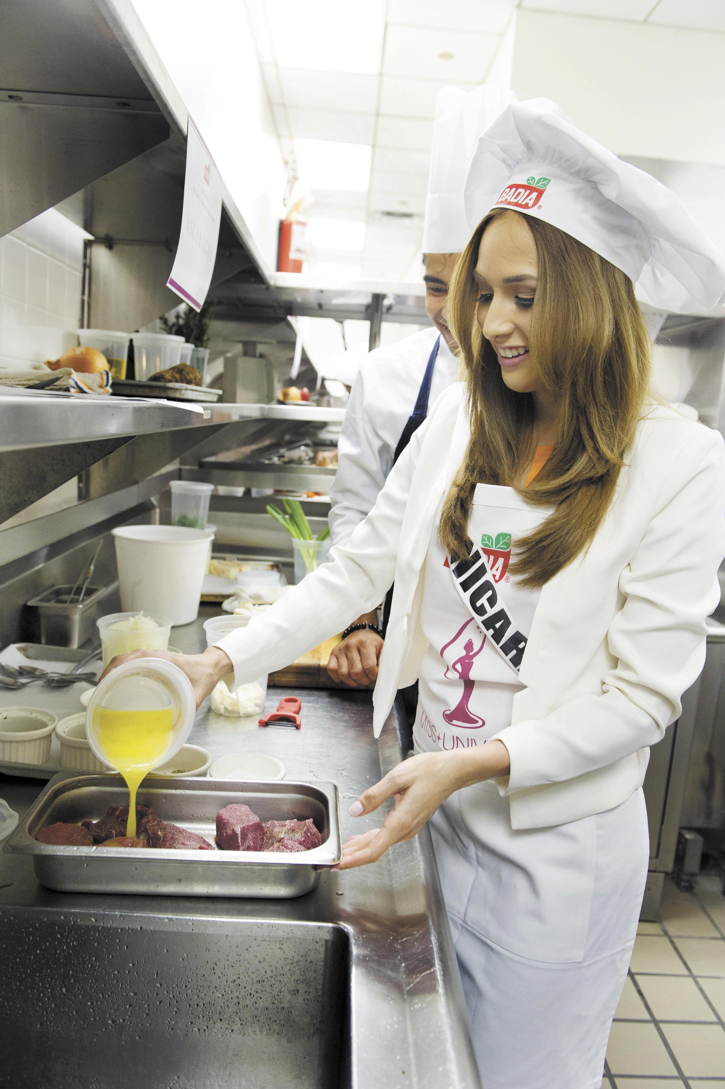 Marline barberena gana segundo lugar en concurso de cocina - Concurso de cocina ...