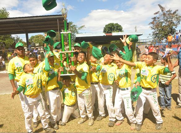 Chinandega nuevo campeón Infantil AA