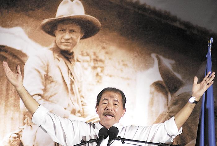 A Daniel Ortega solo le interesa utilizar la figura de Sandino como propaganda, pero no profundiza en el pensamiento del héroe porque no le conviene, aseguran analistas. LA PRENSA/ ARCHIVO
