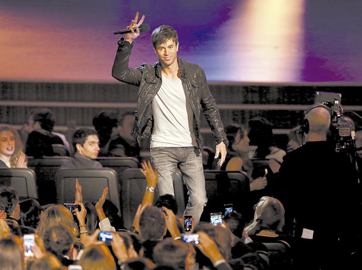 Romeo Santos y Enrique Iglesias, máximos favoritos a los Billboard latinos