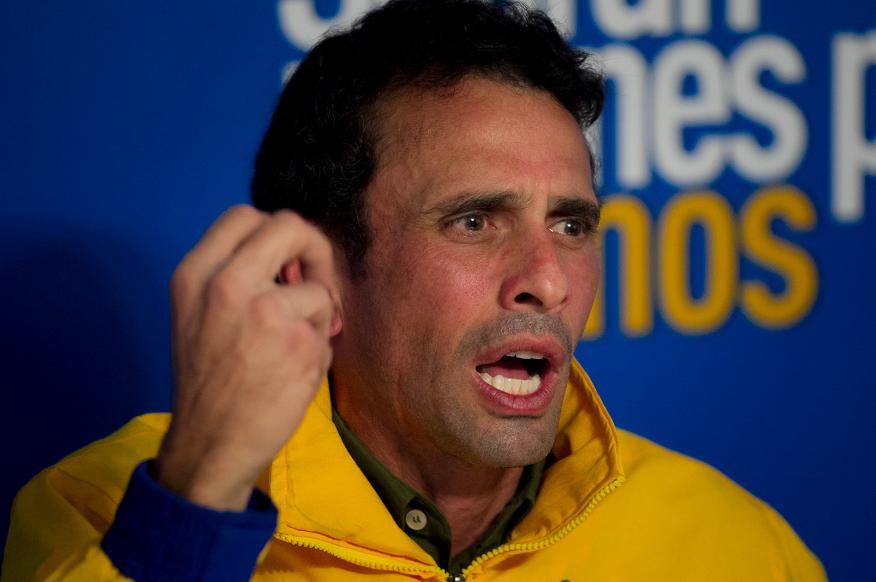 Capriles confirma manifestaciones en todo Venezuela la próxima semana