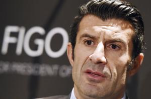 El exfutbolista portugués Luis Figo. EFE/ANDY RAIN