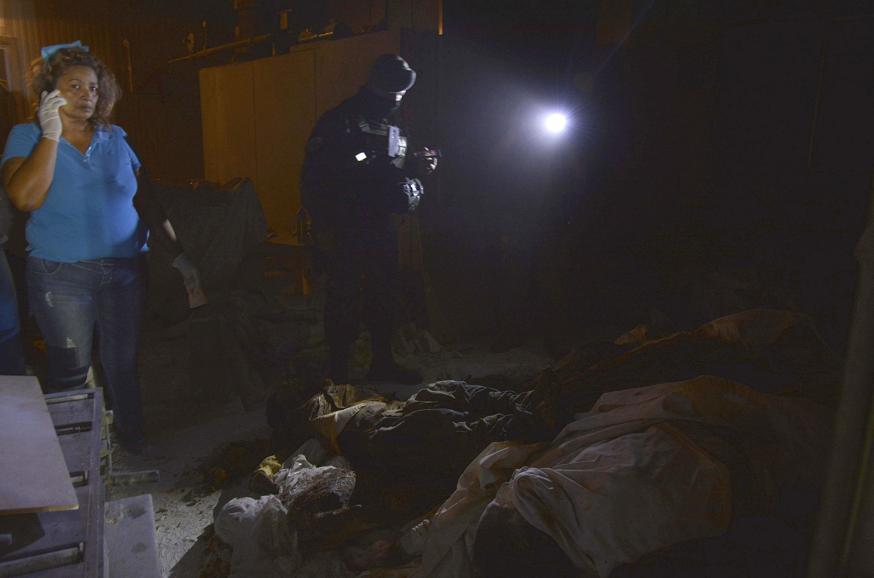 Hallan 60 cadáveres en crematorio abandonado en Acapulco