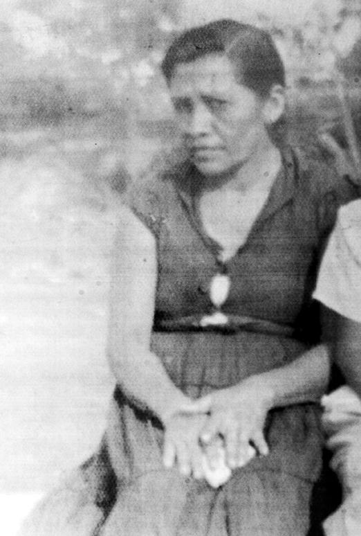María Natalia Sánchez Sandino, hija de Sandino, vivió en Niquinohomo pero murió en Managua, en 1960. LA PRENSA/ REPRODUCCIÓN