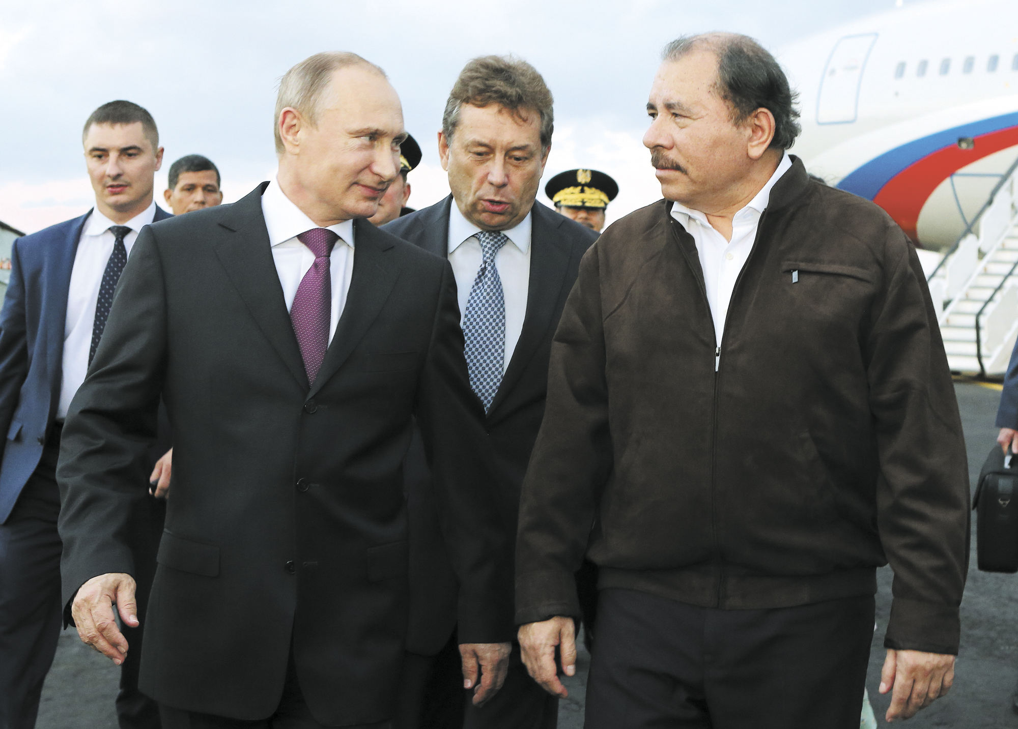 Las relaciones entre Nicaragua y Rusia, especialmente en lo militar, sí afectan al país, indicó el diputado Víctor Hugo Tinoco. LA PRENSA/ ARCHIVO/ AFP