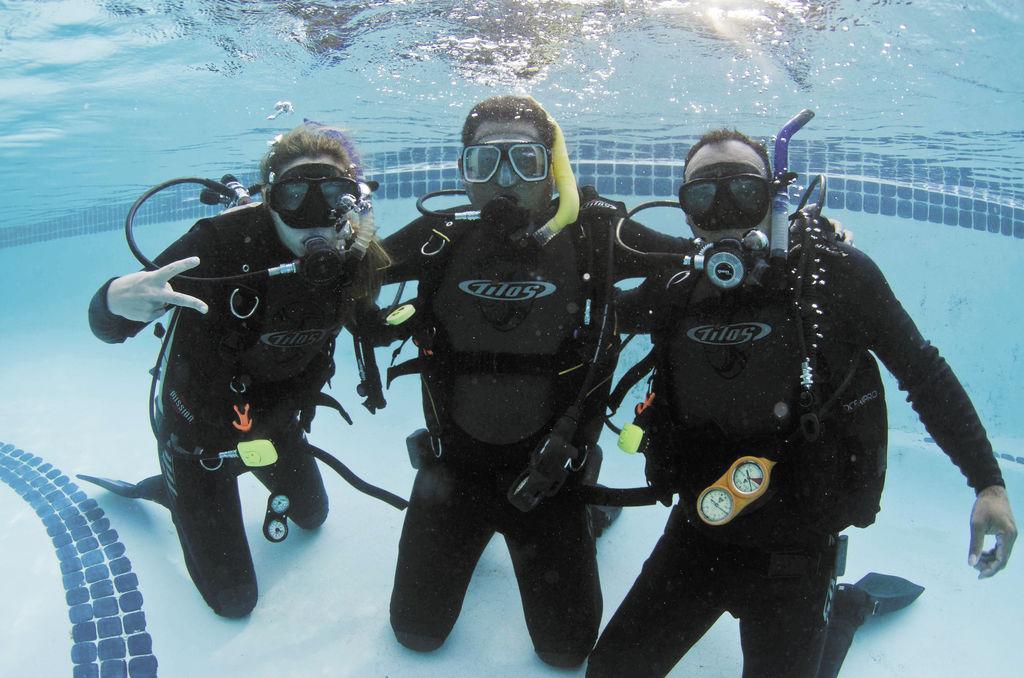 Turismo bajo el agua