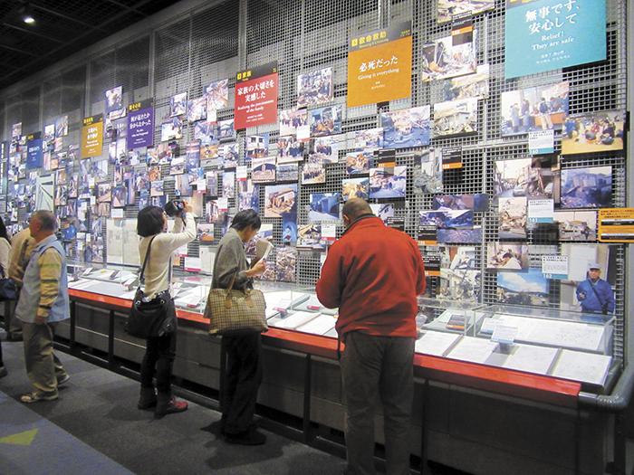 En el edificio DRI se exhiben objetos y pertenencias  de las familias sobrevivientes al terremoto. LA PRENSA/ R. ÀLVAREZ