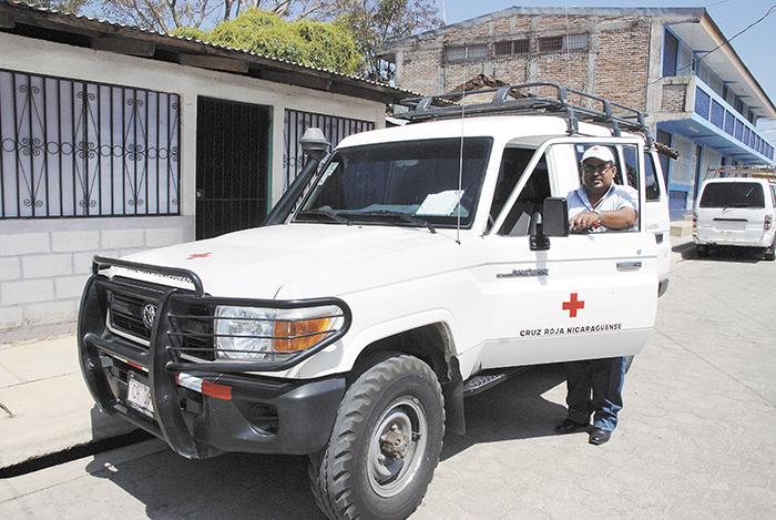 La sede de Cruz Roja Somoto quedó equipada  gracias a la colaboración de su homóloga de Holanda. LA PRENSA/W.ARAGÍN