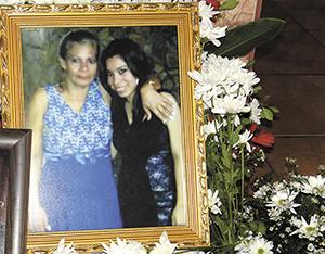Rosibel Murillo  y su hija Lucía Bravo, víctimas de asesinato.   LA PRENSA/ W. NARVÁEZ