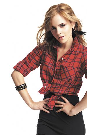 Emma Watson está feliz de ser la protagonista de La Bella y la Bestia