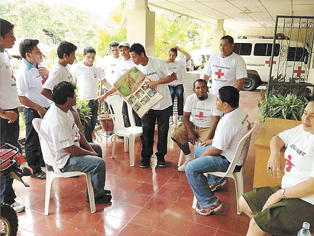 El equipo de Madriz fue enriquecido  por miembros de Cruz Roja de Holanda. LA PRENSA/W.ARAGÓN