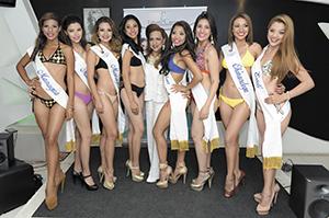 cuerpo reinas del Carnaval de Nicaragua