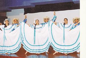 ballet folclorico Nicarahuatl