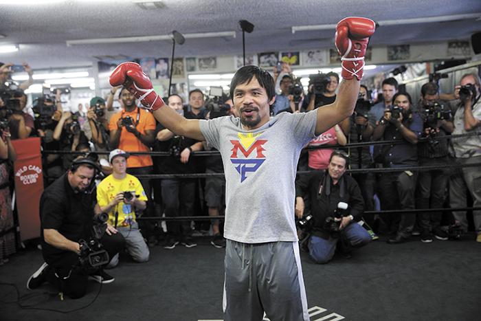 Manny Pacquiao reitera que se retirará tras su pelea en abril