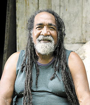 Edgar Coulson Molina,  habitante de San Juan de Nicaragua.  LAPRENSA/ARCHIVO