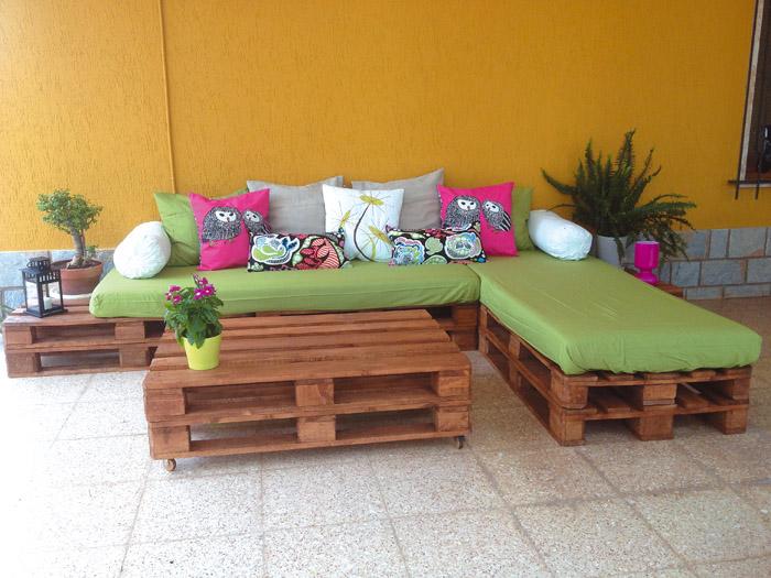 4 ideas con polines la prensa - Muebles de jardin de diseno ...