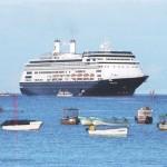 Más cruceros, menos visitas